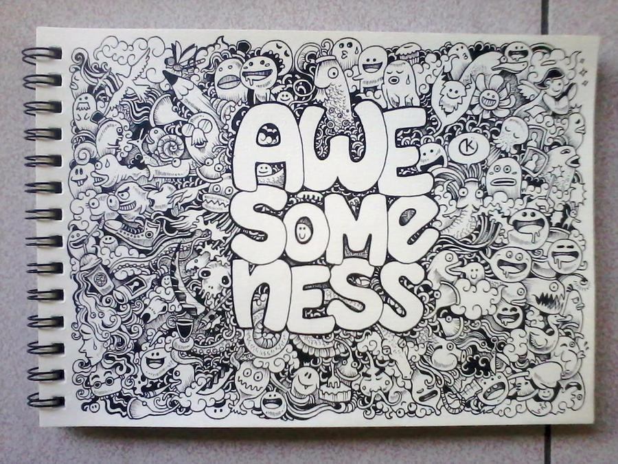 AWESOMENESS Doodles by...