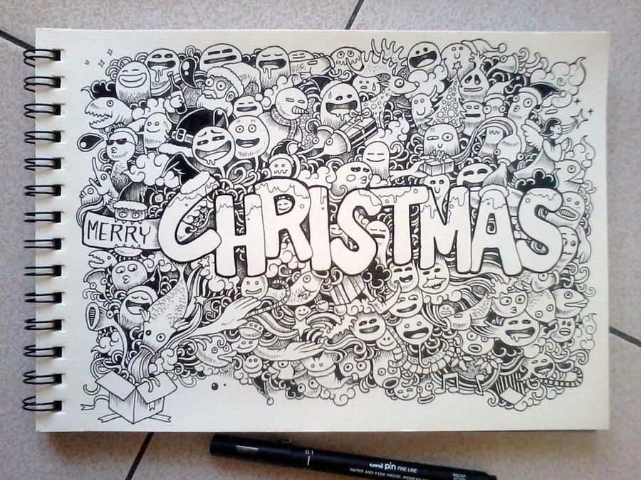 CHRISTMAS DOODLES By Kerbyrosanes