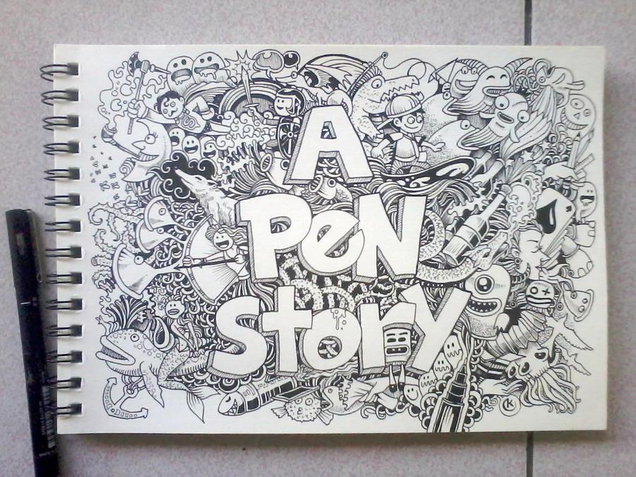 A PEN STORY by kerbyrosanes