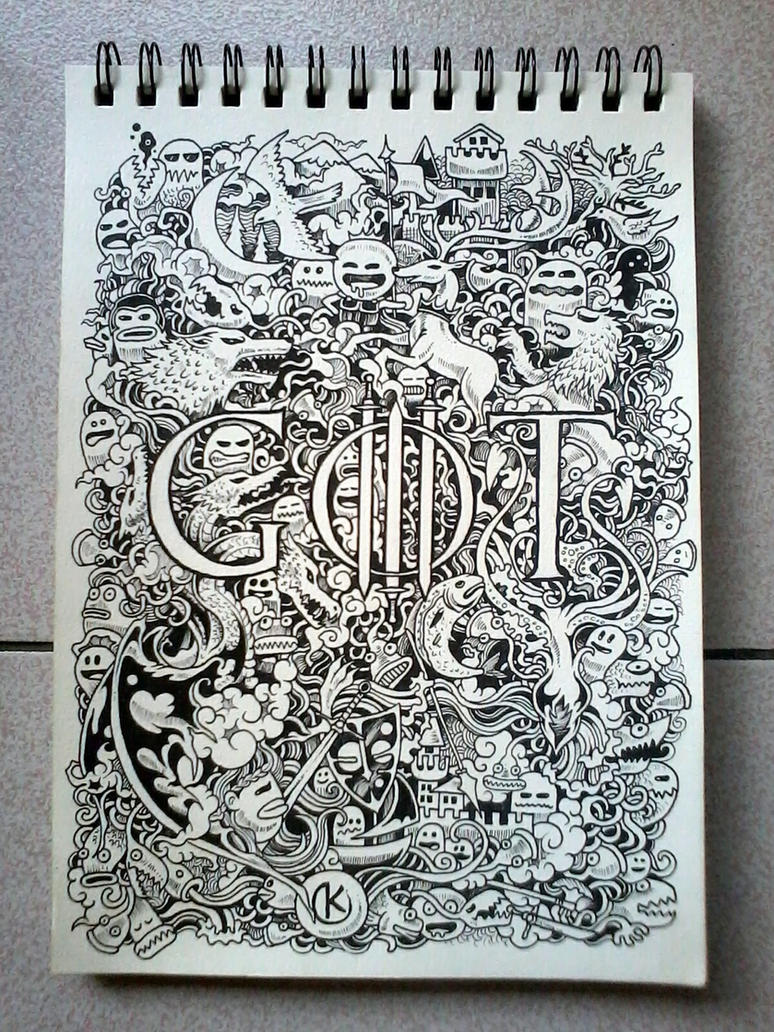 Scribble Drawing Game : Doodle art game of thrones by kerbyrosanes on deviantart