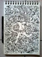DOODLE ART: Dreams by kerbyrosanes