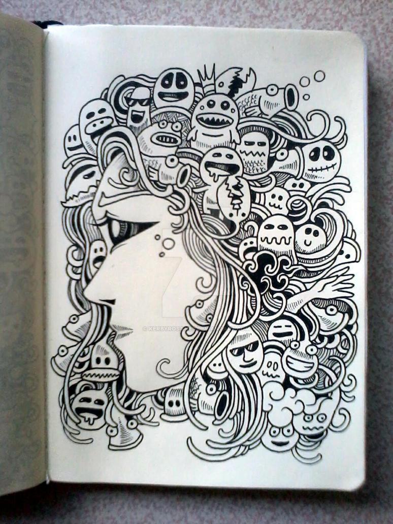 DOODLE ART: Mother Of Doodles by kerbyrosanes
