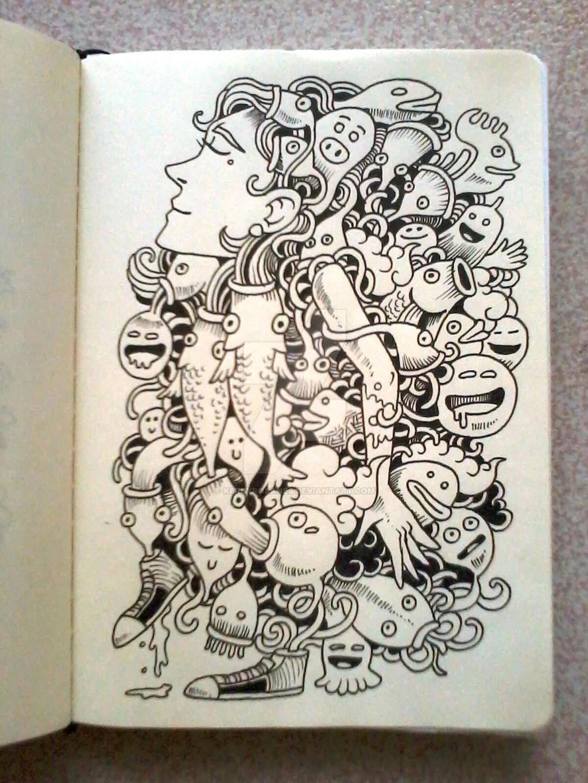 DAILY DOODLES Hug By Kerbyrosanes