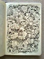 DAILY DOODLES: Social, social, social by kerbyrosanes