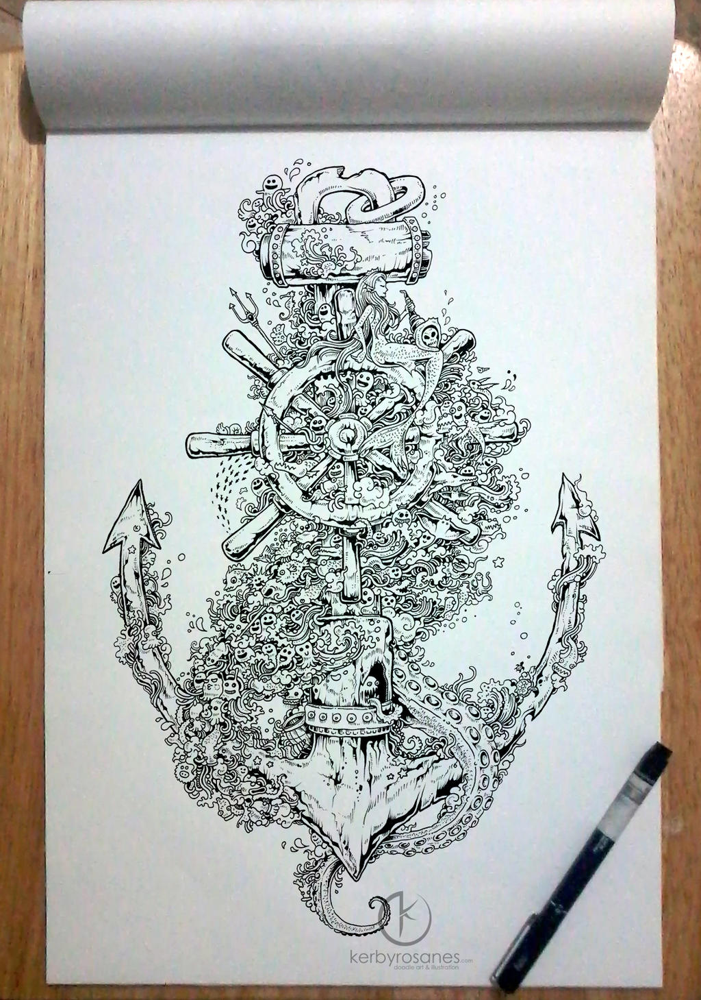 INTO THE DEEP By Kerbyrosanes On DeviantArt