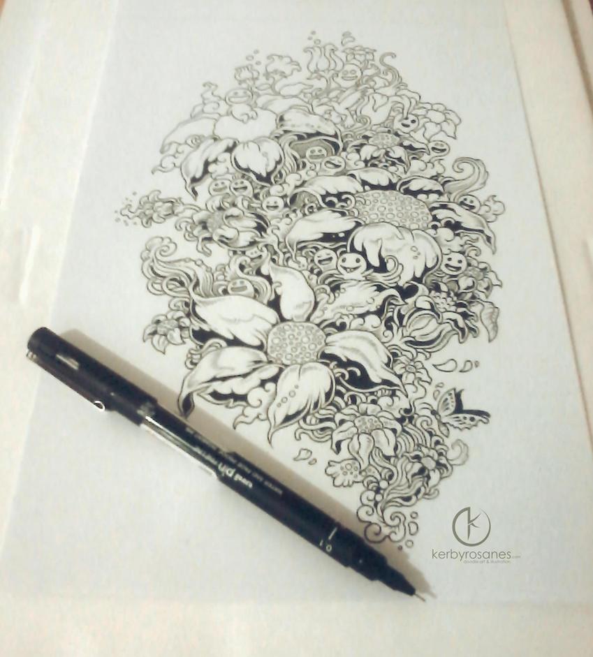 WORK IN PROGRESS: Bloom by kerbyrosanes