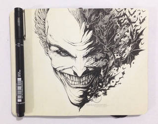 MOLESKINE DOODLES: Why so serious? by kerbyrosanes