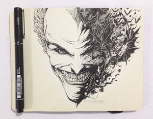 MOLESKINE DOODLES: Why so serious?