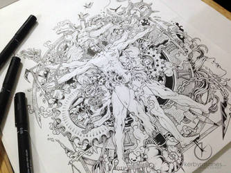 COMMISSIONED WORK: More Die of Heartbreak by kerbyrosanes