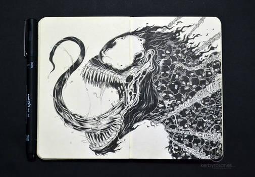 MOLESKINE DOODLES: Venomous