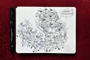 HAPPY HOLIDAYS EVERYONE! by kerbyrosanes