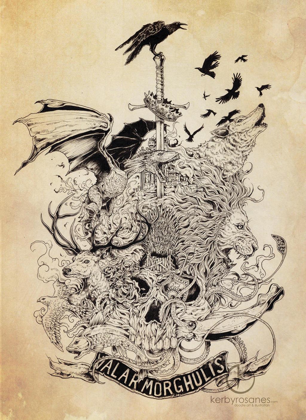 Valar Morghulis by kerbyrosanes
