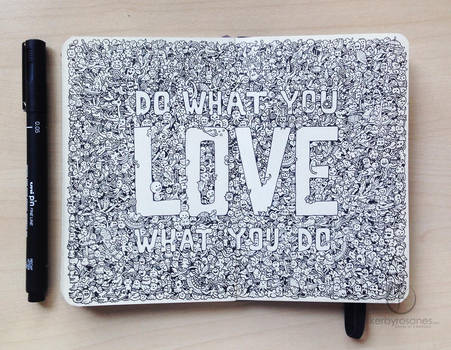 MOLESKINE DOODLES: Do What You LOVE
