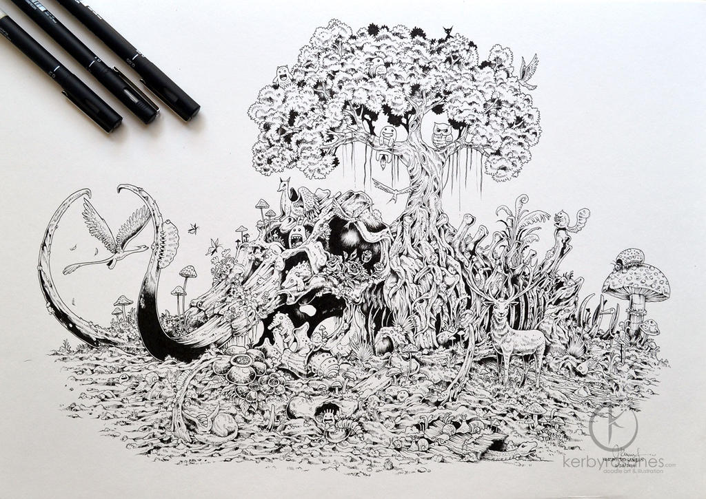 COMMISSIONED WORK Mammoth Paradise By Kerbyrosanes On