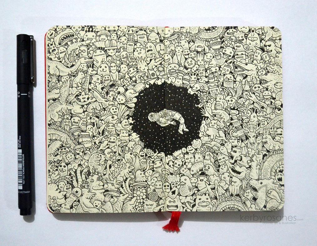 Black Hole by kerbyrosanes