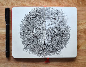 MOLESKINE DOODLES: The King's Awakening 2.0