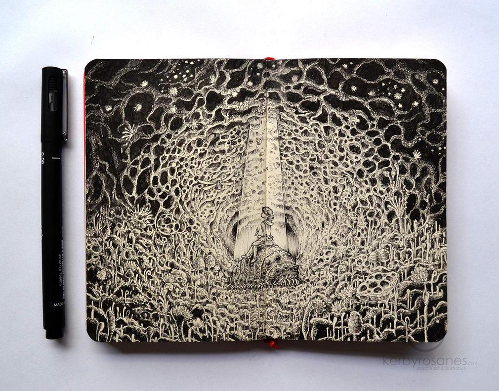 MOLESKINE DOODLES Nausicaa By Kerbyrosanes