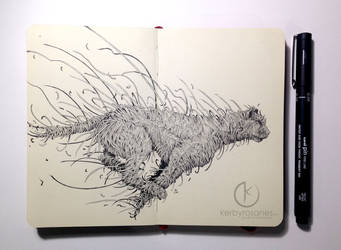 MOLESKINE DOODLES: Strings by kerbyrosanes