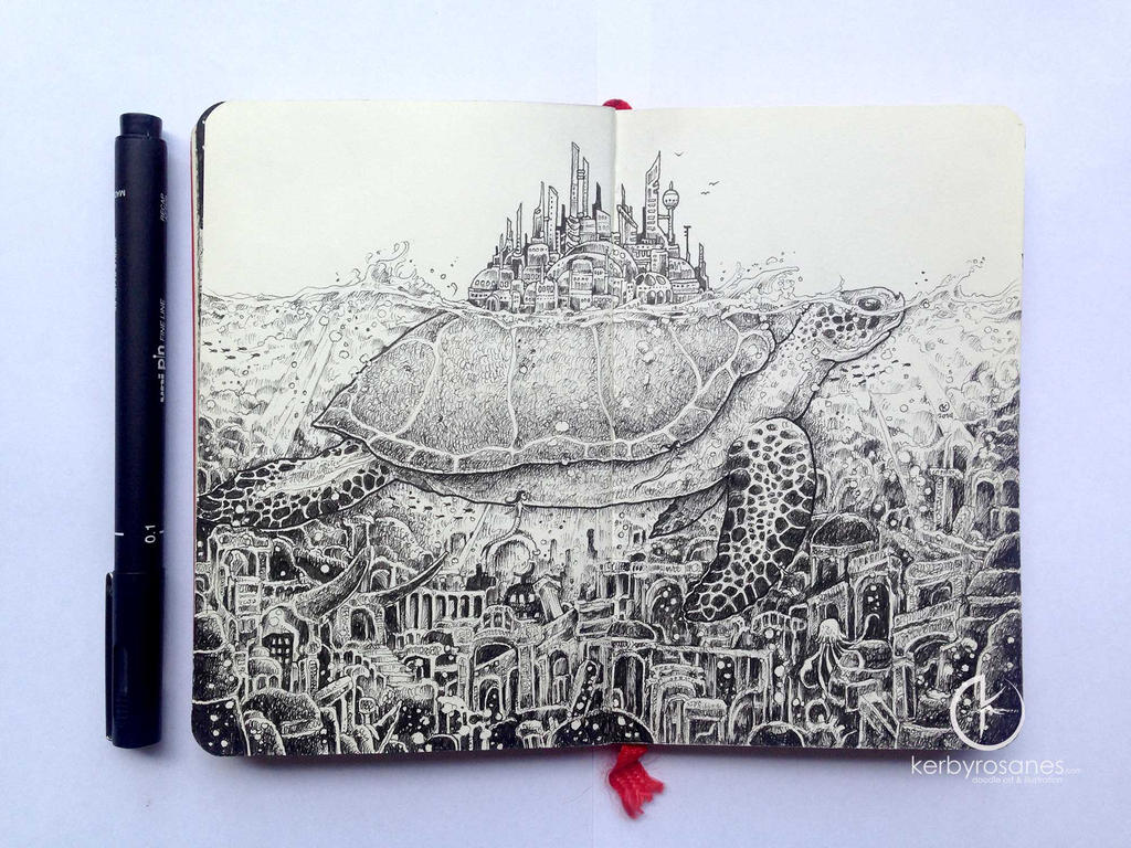 Moleskine Doodles By Kerbyrosanes On DeviantArt
