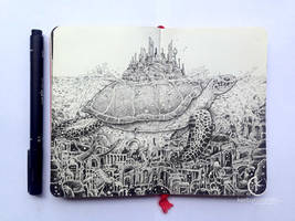MOLESKINE DOODLES: Lost City