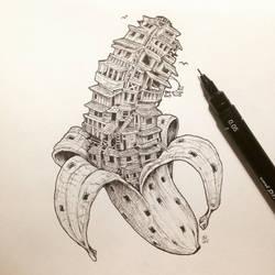 Bananaville by kerbyrosanes
