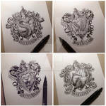 HP House Crests