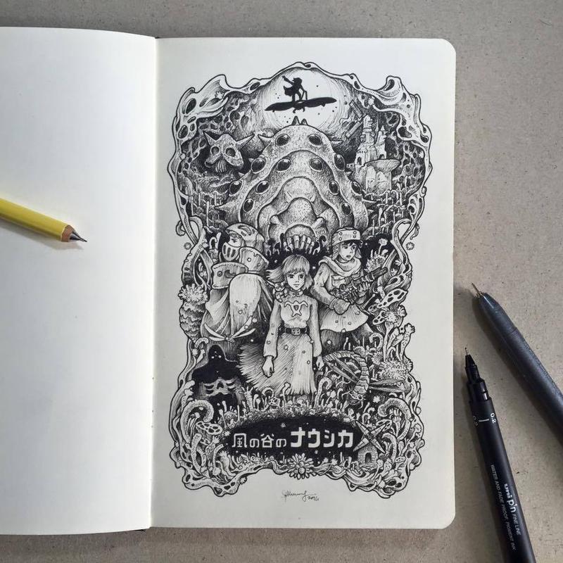 Kaze no Tani no Naushika by kerbyrosanes