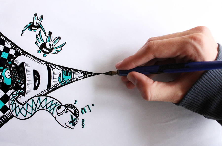 dip pen by lucblup