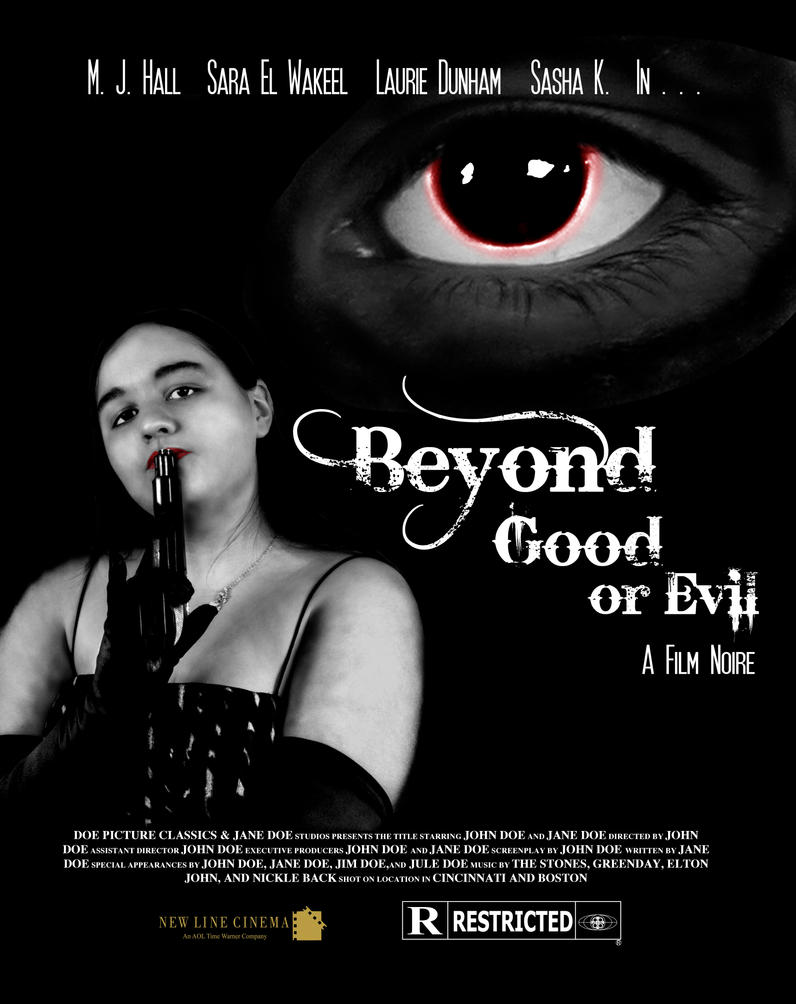 Final Poster Project: Beyond Good or Evil by insanity-pillz