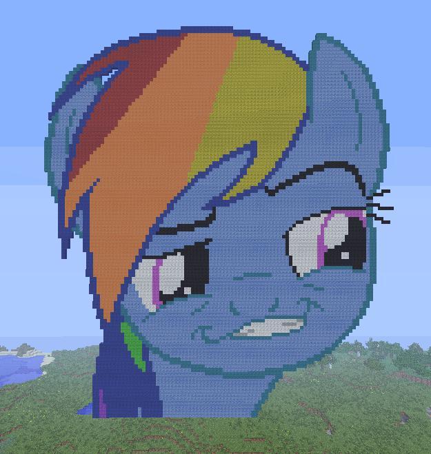 Pixel Art Minecraft My Little Pony Download