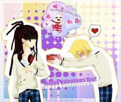 MAGI - Valentines day - Kassim x Alibaba by RuRinify