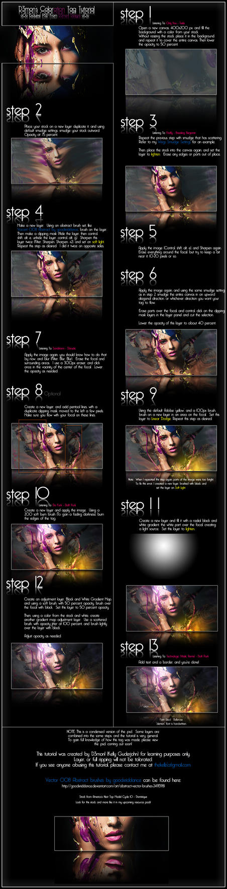 Coloration Tag Tutorial by thekellz