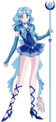 Sailor Destiny Blue by Sailor-girl1234