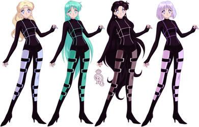 The Neo Outer Senshi