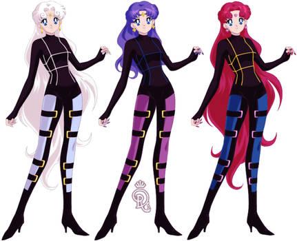 The Beautiful Senshi