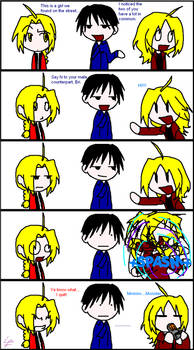 FMA: Spaztic Greetings