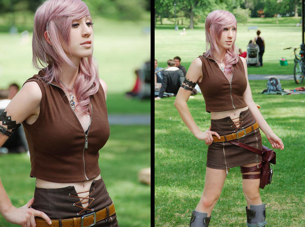 Lightning Cosplay by xwickedgames