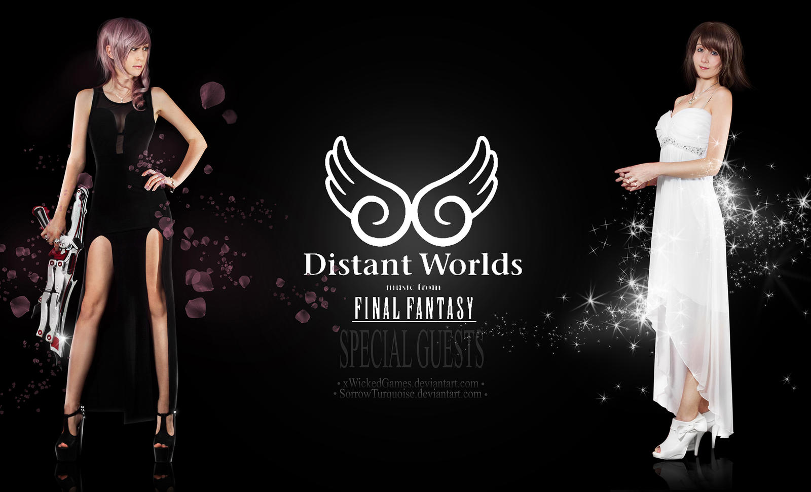 Distant Worlds Special Guests by xwickedgames