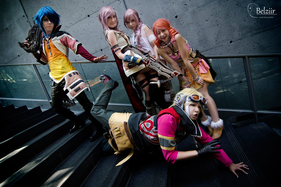 FFXIII group shot! by xwickedgames