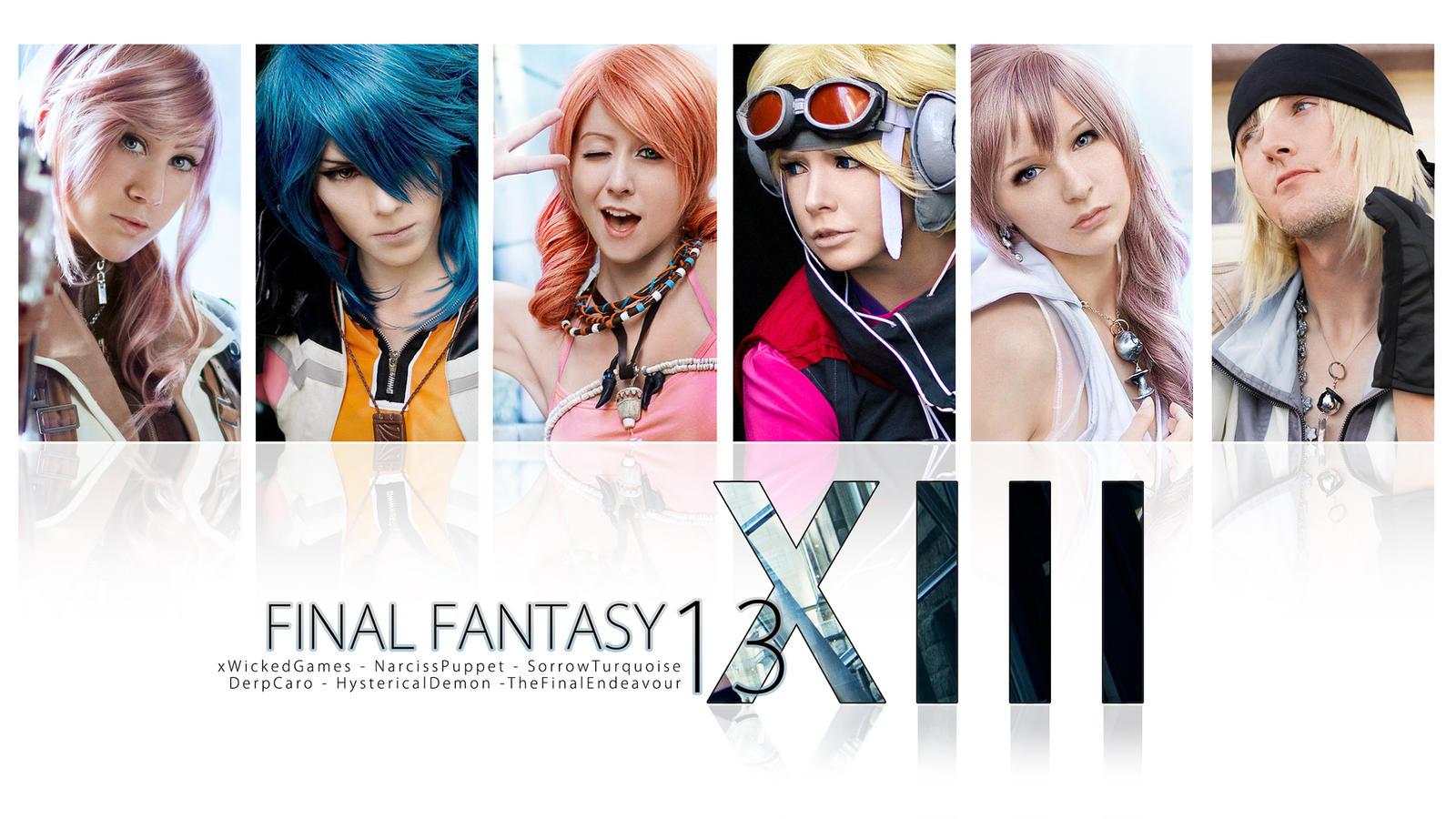 Final Fantasy XIII by xwickedgames