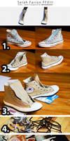 Serah Farron WIP - Shoes