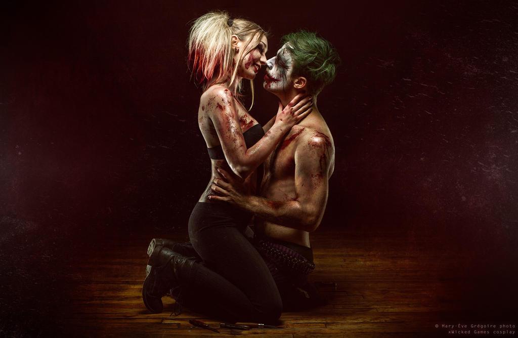 Harley x Joker by xwickedgames