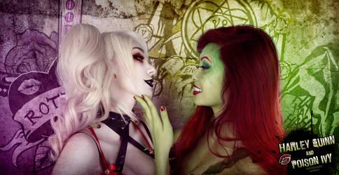 Harley Quinn x Poison Ivy