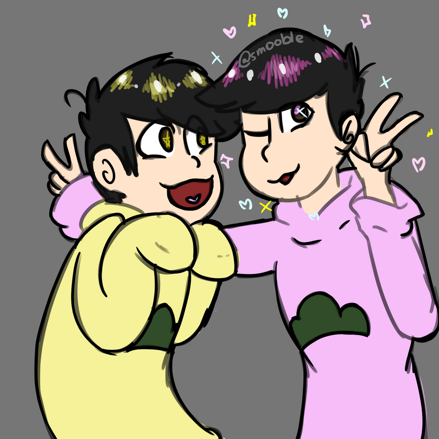 |Osomatsu| Todo and Jyushi by Smol-Maple-son