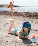 At the Beach #17 by Kolezan