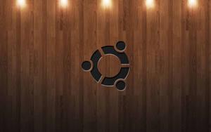 Ubuntu Wood with Lights by Accesske