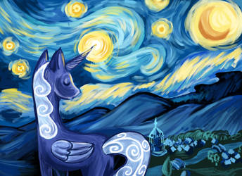 Luna's Starry Night by RK-d