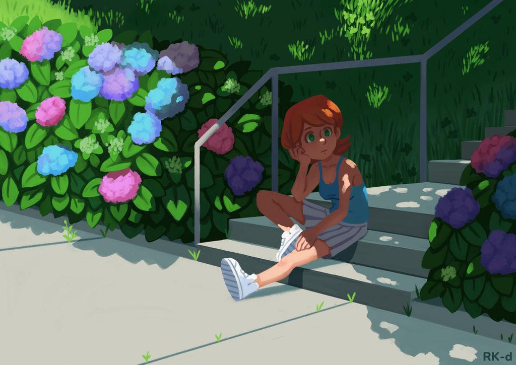 Hydrangea Summer Days