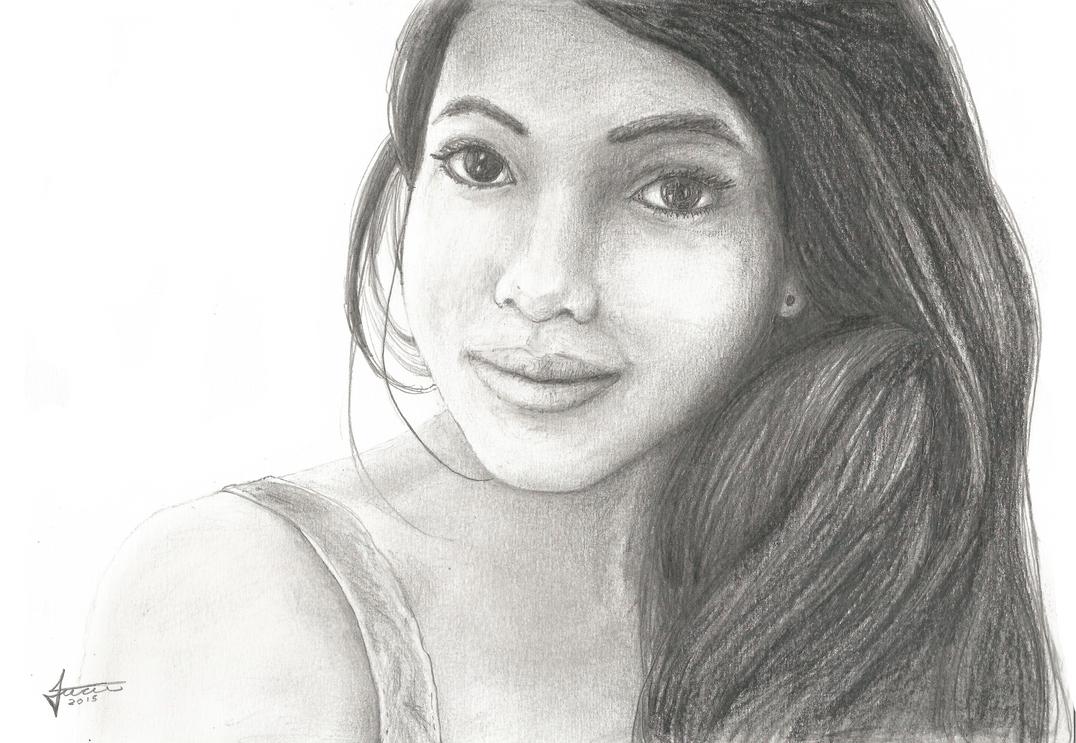 Natalia Avelino by IMCMdrawings