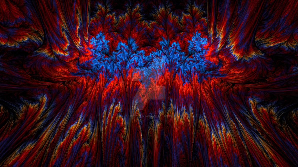 Psychedelic Spectra - HD Wallpaper by Trip-Artist